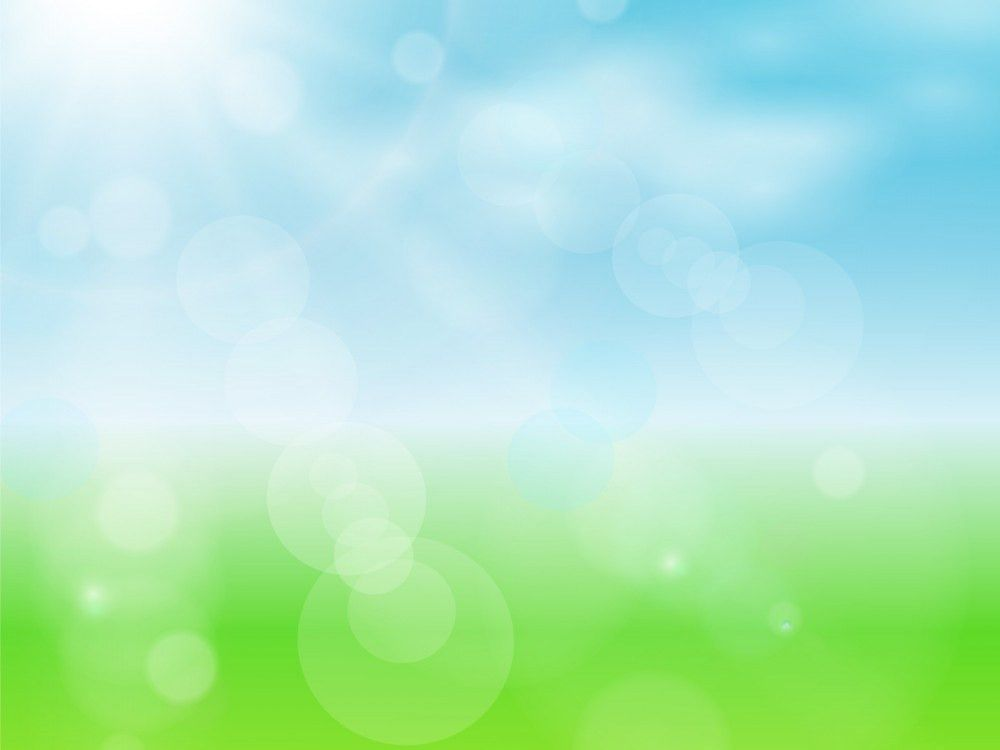 Spring Sun Powerpoint Design PPT Backgrounds - Blue, Colors ...