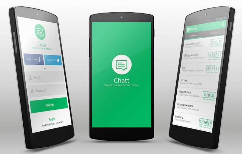 Sample Android Chat App Template with Parse Backend