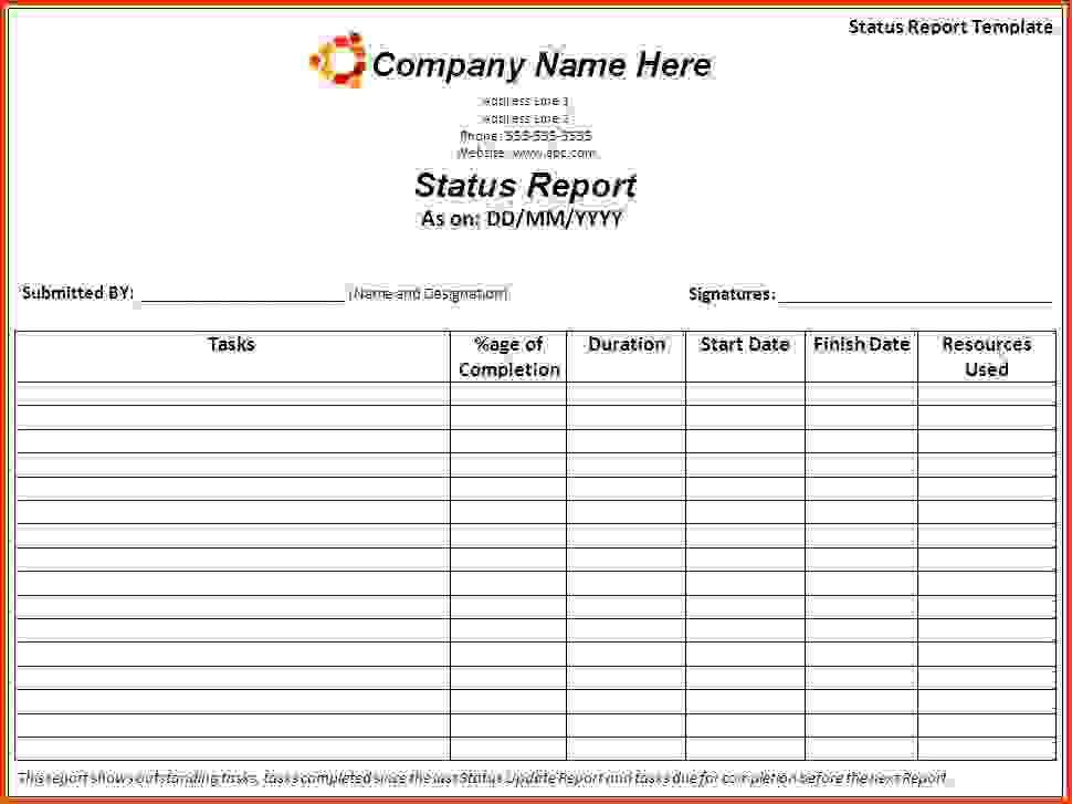 Status Report Template.Weekly Report Template.jpg?a22558 ...