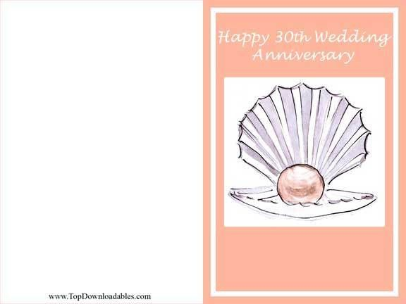 Free Printable Wedding Anniversary Cards | cards | Pinterest ...