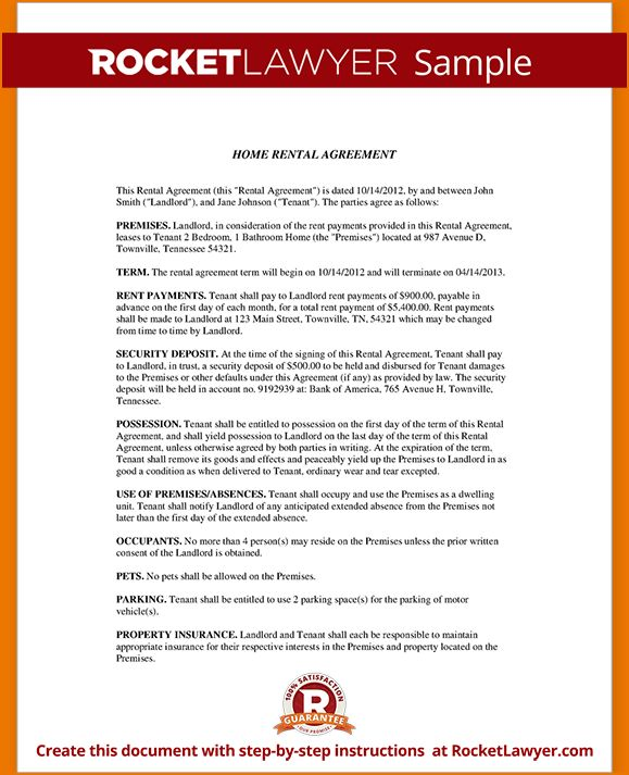 5+ house rental agreement template | teknoswitch