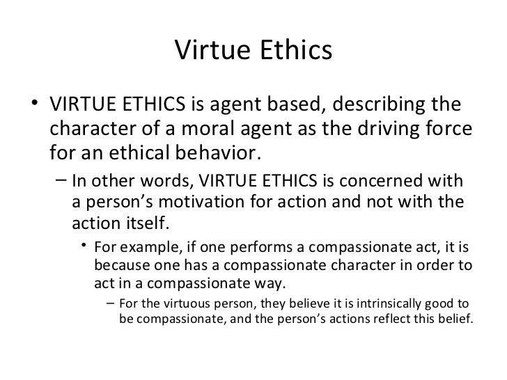 ethics essay examples