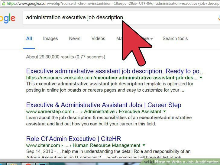 How to Write a Job Justification: 12 Steps (with Pictures)