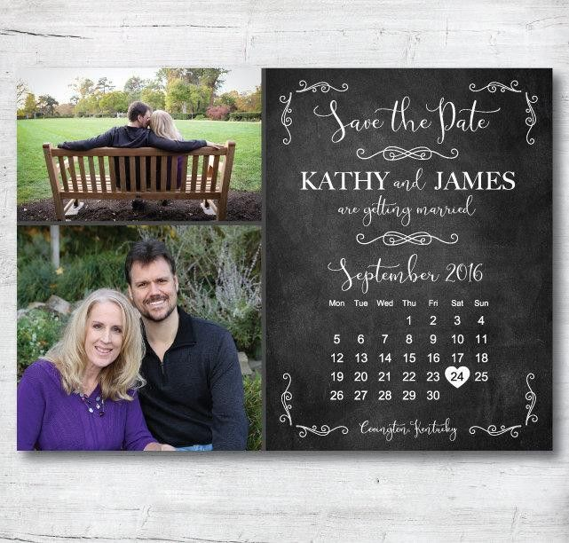 Save The Date Template, Save The Date Printable, Rustic Save The ...