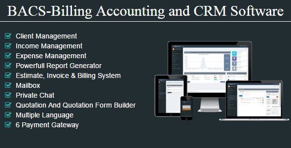 BACS - Billing Accounting And CRM Software (Project Management ...