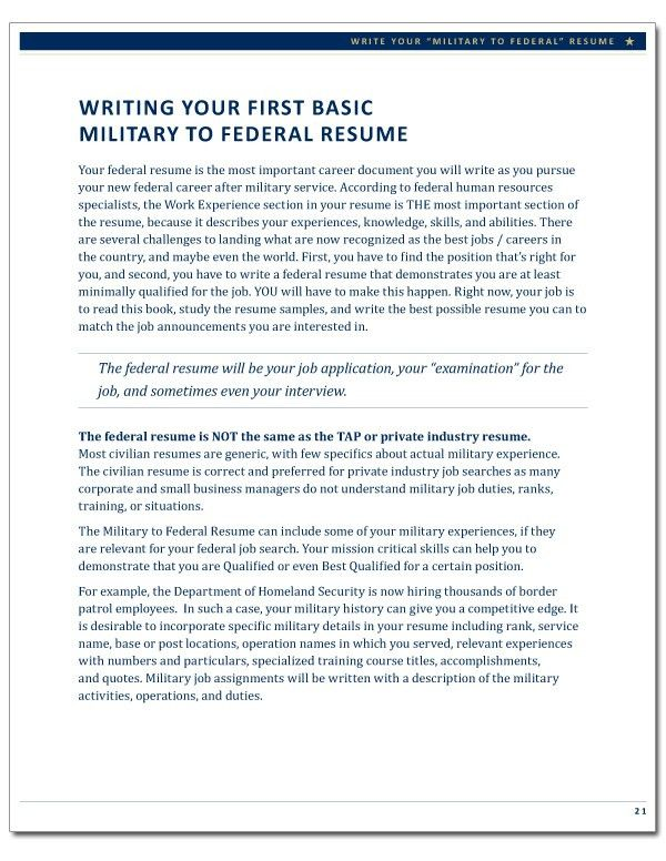 Download Federal Resume | haadyaooverbayresort.com