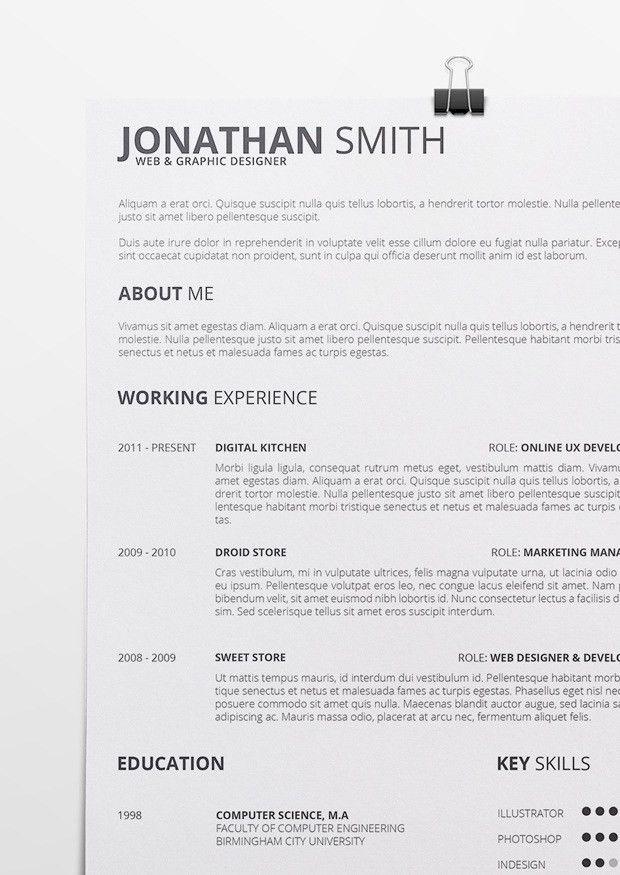 Pretty Looking Resume Docx 11 RESUMEdocx - Resume Example