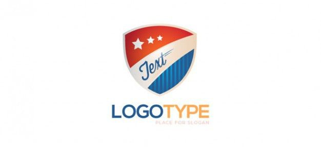 Security logo design template PSD file | Free Download