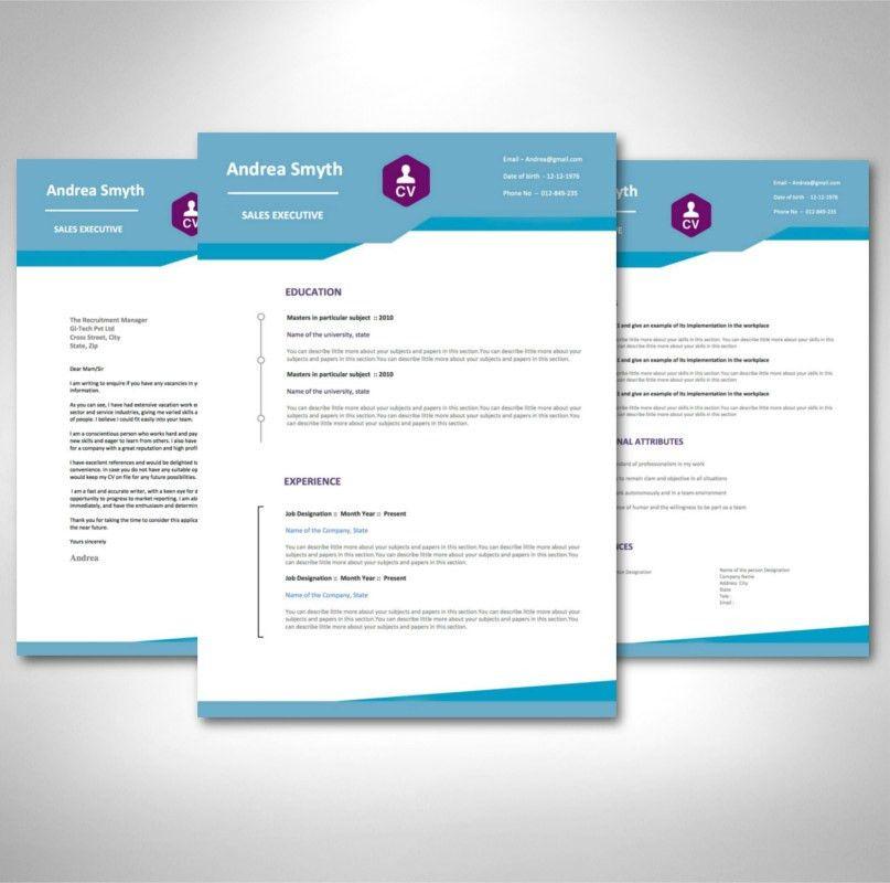 Graduate CV Template Pack - AceCVs