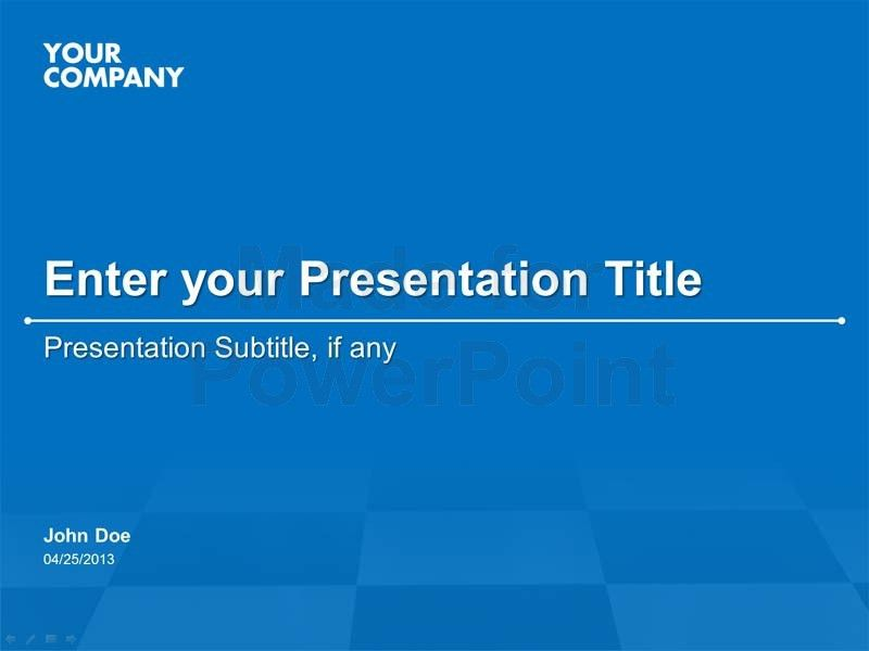 Seminar Presentation PowerPoint Template