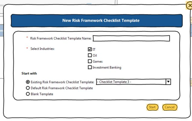 Checklist Template Management | Arctic Intelligence