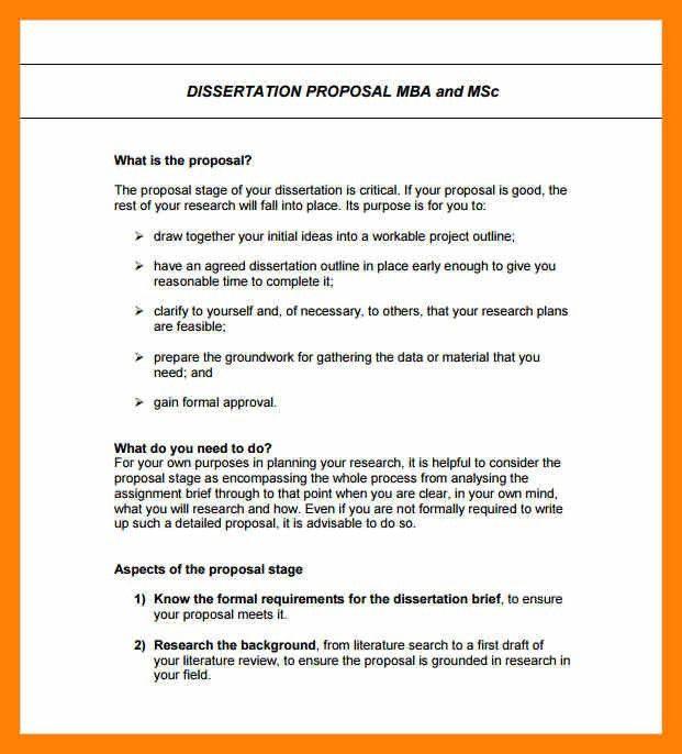 10+ formal proposal | informal letter