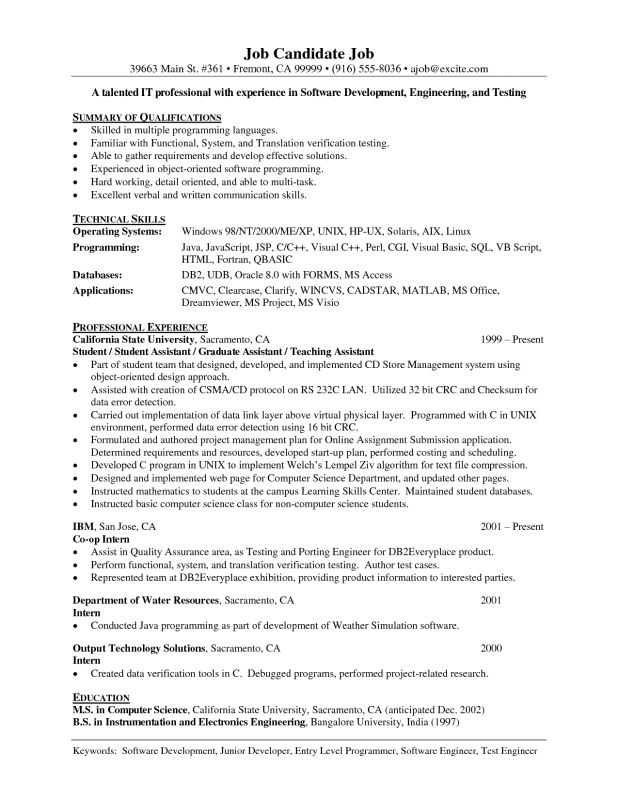 examples of resumes 89 remarkable what is a resume for job in ...