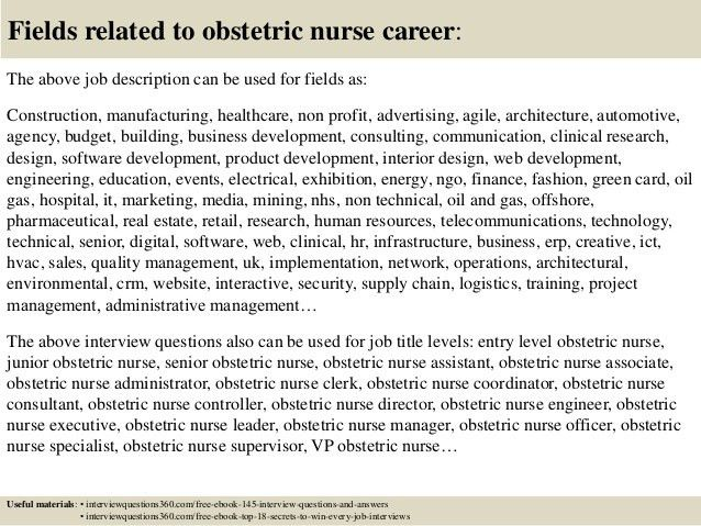 ob nurse resumes