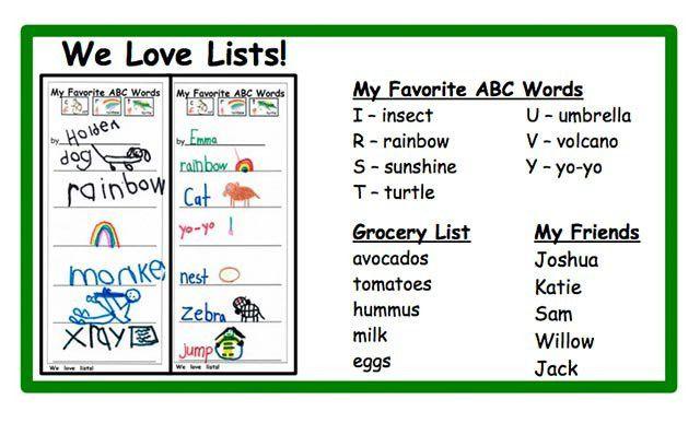 "Kindergarten writing proficiency with ""Heart Words"" - Nellie Edge"
