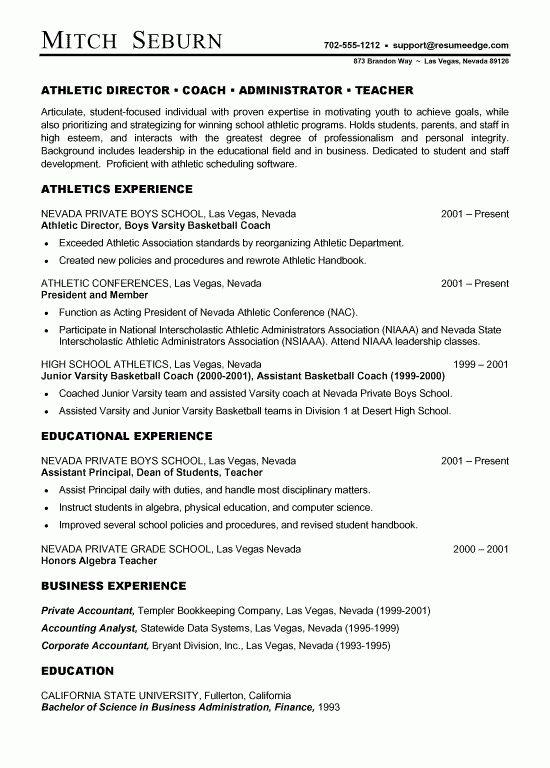 Download Basketball Coach Resume | haadyaooverbayresort.com