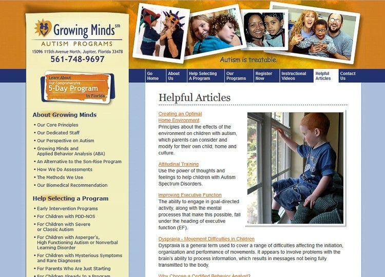 Website Design Portfolio | Sites Created by Big Blue Design