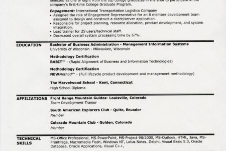 resume heading examples resume samples biotechnology good example