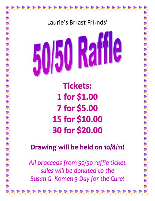 Raffle Flyer Template Word  BesikEightyCo
