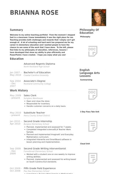 Sales Clerk Resume samples - VisualCV resume samples database