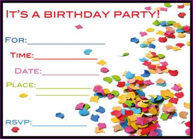 Card Invitation Ideas. Free Birthday Invitation Cards For Kids ...
