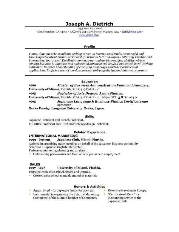 Free Resume Builder Microsoft Word | poserforum.net