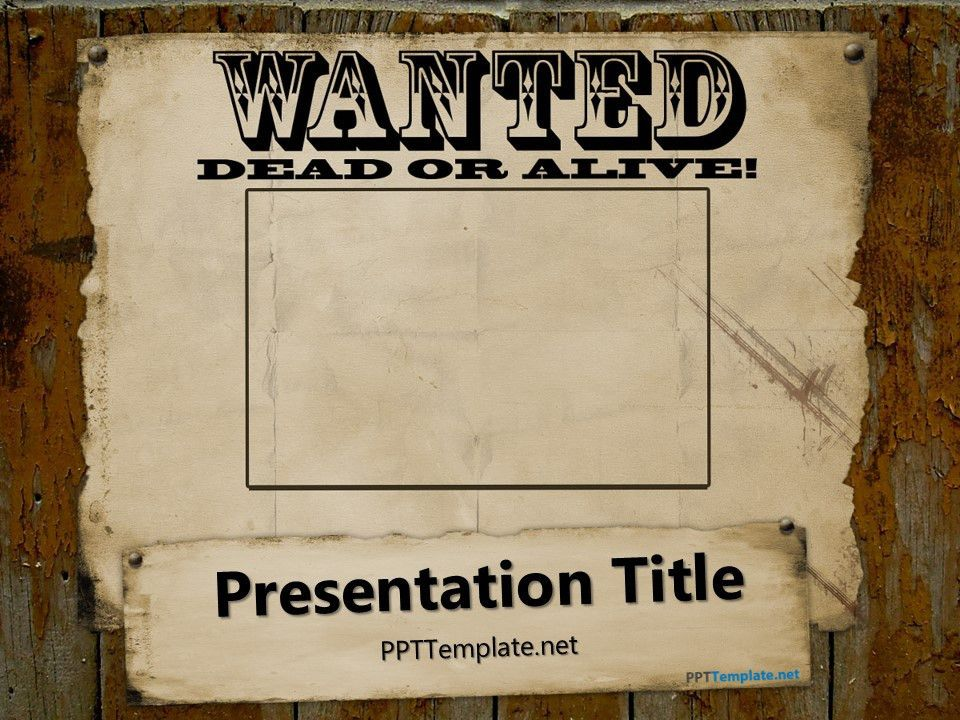 make a wanted poster online free - Hallo