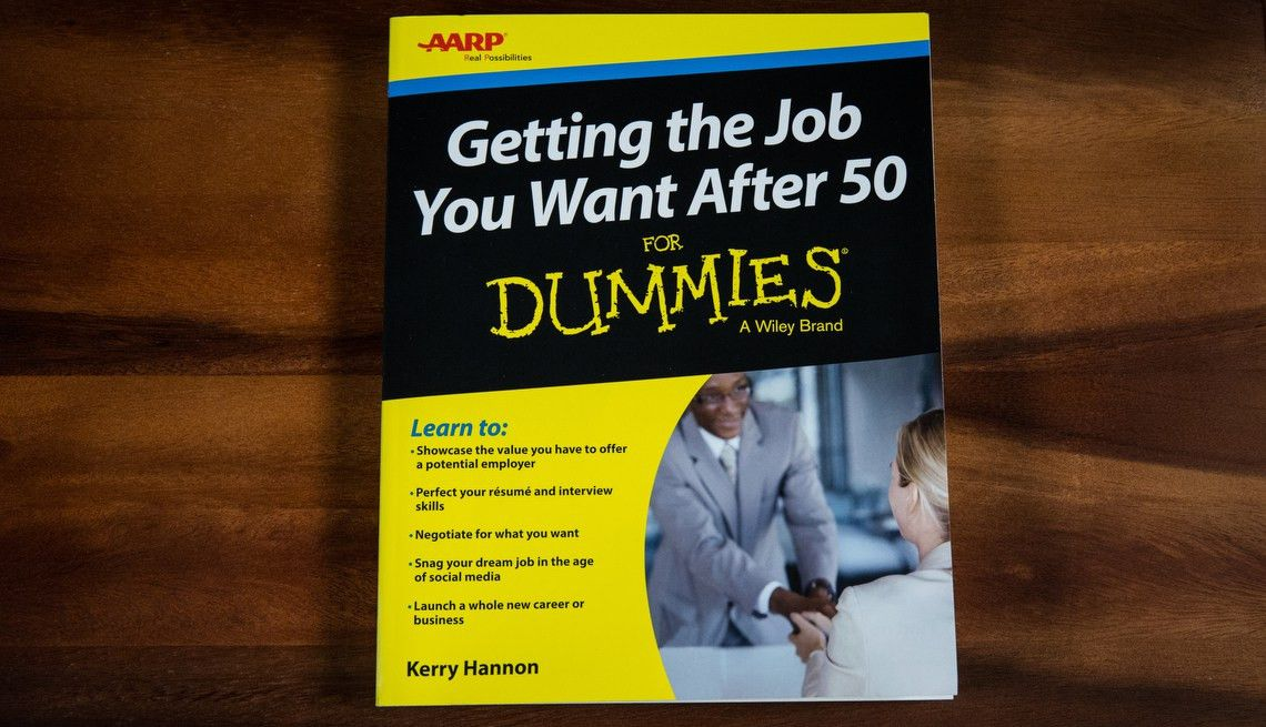 Getting the Job You Want After 50 for Dummies' Book