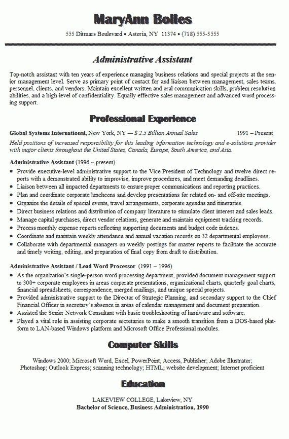 Good Qualifications For A Resume Examples | Sales Representative ...