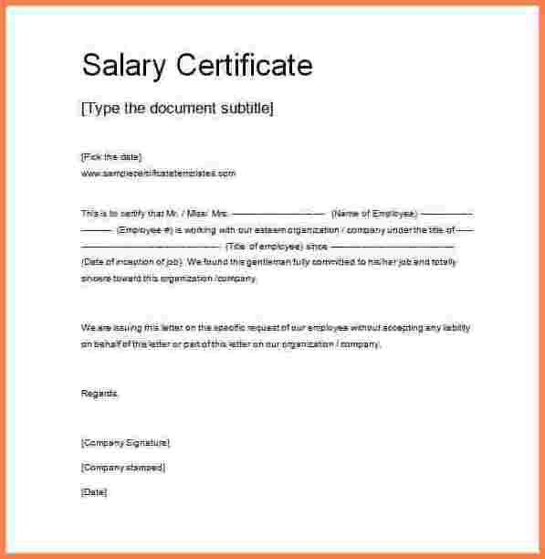 12+ certificate of employment sample with salary | Sales Slip Template
