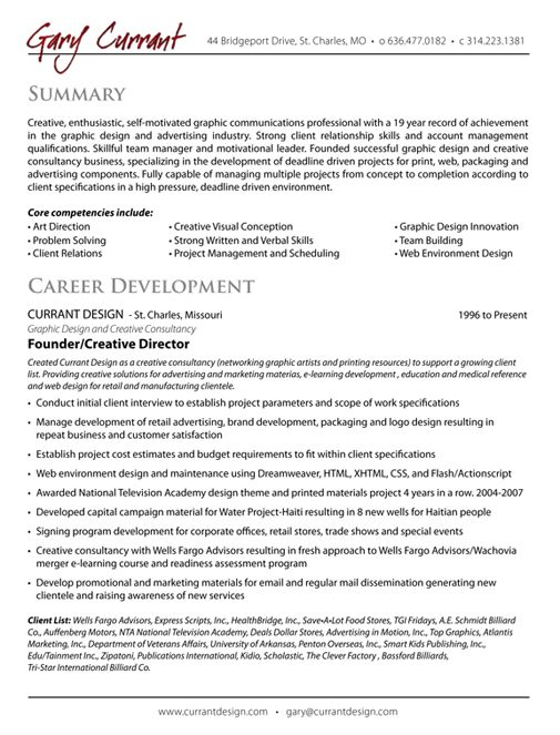 Creative Director Resume Sample | Free Resumes Tips