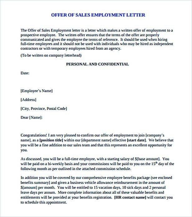 Basic Rules of Sales Letter