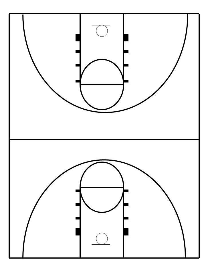 Basketball Court Clipart - Clipartion.com