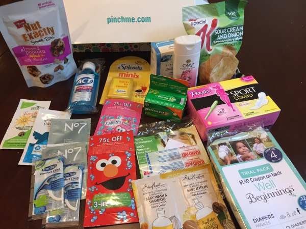 New PinchMe Free Samples Today! - Full Size Baby Samples and more!