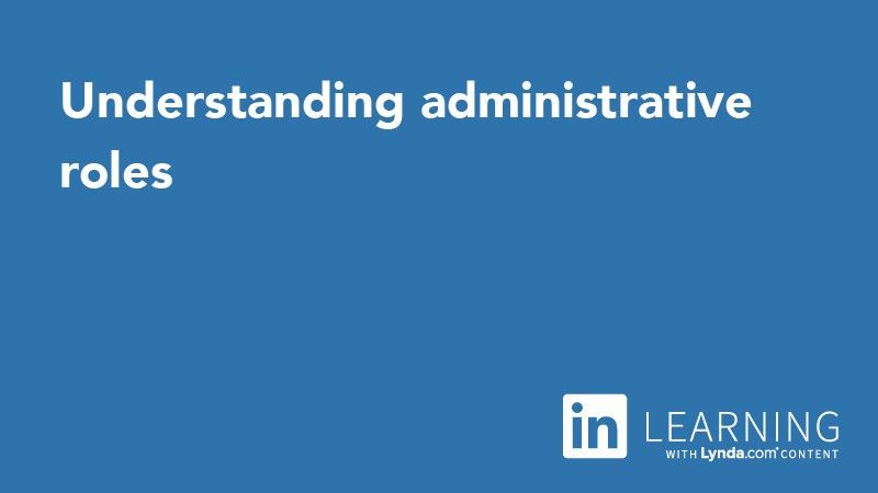 Understanding administrative roles - Office 365