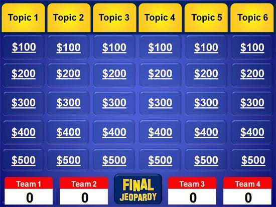 Powerpoint Jeopardy Template | tristarhomecareinc