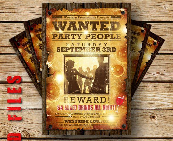 9 Free & Premium Wanted Poster Templates (PSD) – Design Freebies