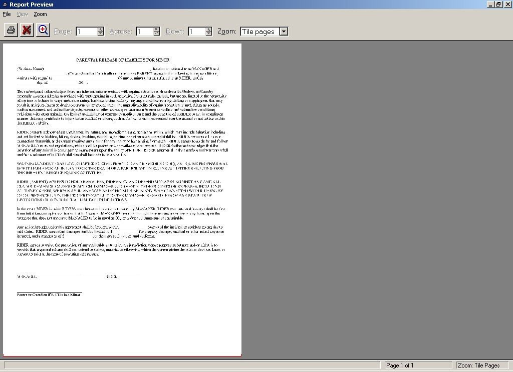 FormsHorse Lease Agreement. 6+ Rent Contract | Printable Receipt ...
