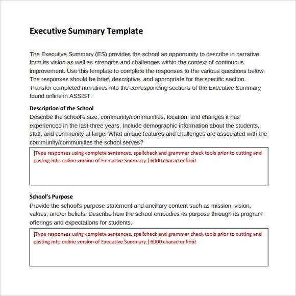 Writing executive summary template report writing skills training sample executive summary template 8 documents in pdf word excel pronofoot35fo Image collections
