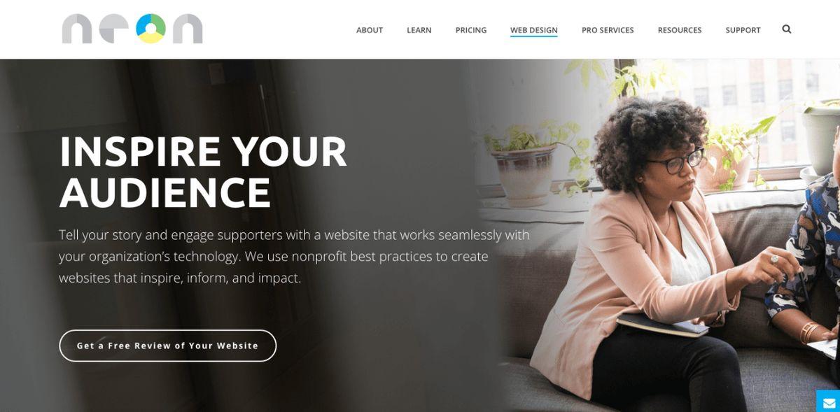 Top 10 Nonprofit Web Design Firms [Reviewed]