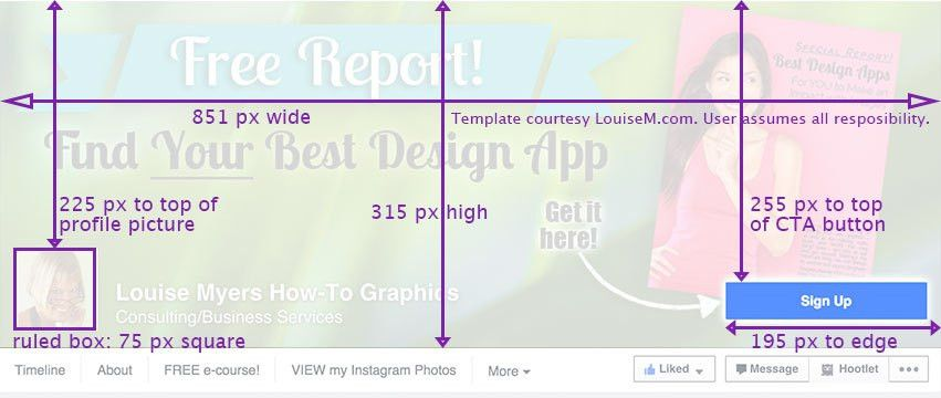 Facebook Cover Photo 2015 Template: It Changed Again!