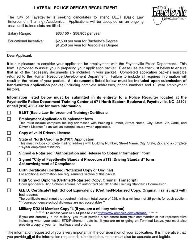Police Officer Resume Objective Statement | Free Resume Templates