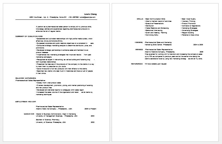 Best Resume Examples Of Pharmacist Job Vacancy : Vntask.com