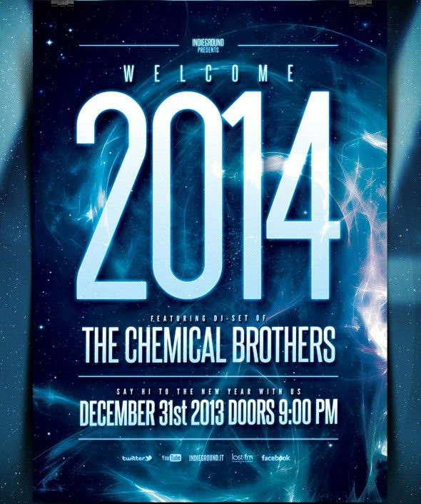 21 Free PSD Party Flyer Templates