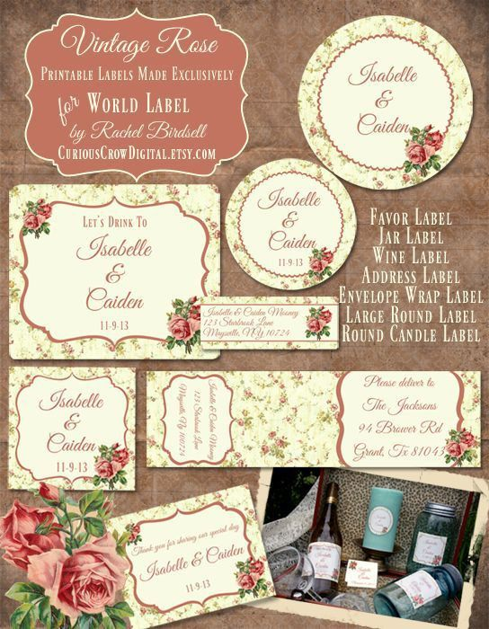 Best 25+ Free address labels ideas on Pinterest | Print address ...