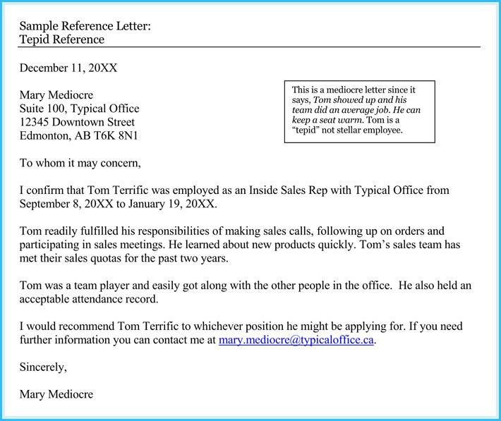 Sample Reference Letter From Previous Employer - Resume Templates