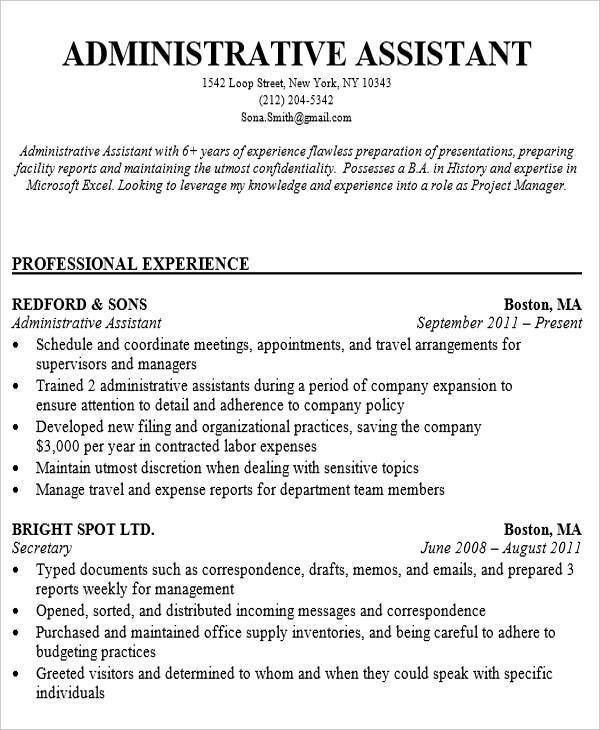 30 Executive Resume Designs
