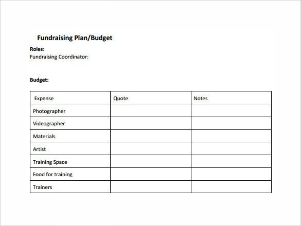 Fundraising Plan Template. Fundraising Request Letter - A Request ...