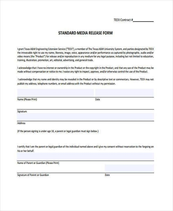 Legal Waiver Form Templates] Waiver And Release Canada Legal ...