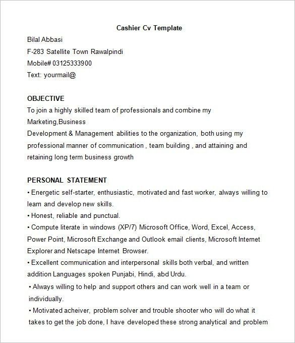 the best resume format ever